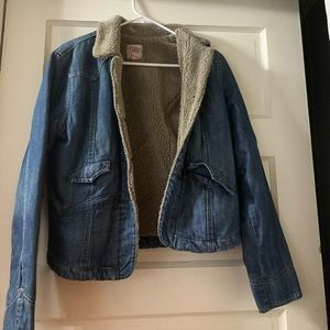 Lucky Brand Sherpa Denim Jacket